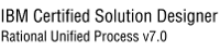 IBM Certified Solution Designer, Rational Unified Process v7.0